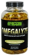 Species Nutrition - Omegalyze Complete Essential Fatty Acid Supplement Pharmaceutical Grade - 180 Softgels by Species Nutrition