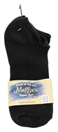 Maggie's Organics - Socks Cotton Footie Size 9-11 Black - 1 Pair (760702480271)