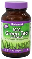 Image of Bluebonnet Nutrition - Standardized EGCG Green Tea Leaf Extract - 120 Vegetarian Capsules