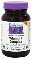 Image of Bluebonnet Nutrition - Natural Vitamin E Complex High Gamma - 30 Liquid-Filled Capsules