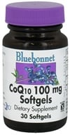 Bluebonnet Nutrition - CoQ10 Ubiquinone From Kaneka 100 mg. - 30 Softgels