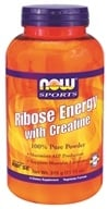 NOW Foods - Ribose Energy with Creatine 100% Pure Powder - 11.11 oz. CLEARANCE PRICED by NOW Foods