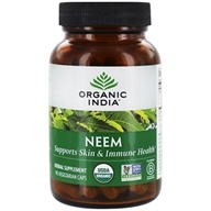 Organic India - Neem Blood Cleanser - 90 Vegetarian Capsules (851469000540)