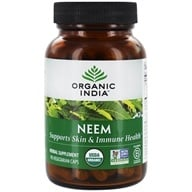 Organic India - Neem Blood Cleanser - 90 Vegetarian Capsules, from category: Herbs