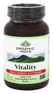 Image of Organic India - Vitality Daily Energy & Stamina - 90 Vegetarian Capsules