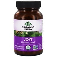 Image of Organic India - Joy Uplifts Mood - 90 Vegetarian Capsules