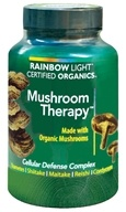 Image of Rainbow Light - Certified Organics Mushroom Therapy - 60 Vegetarian Capsules
