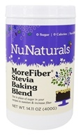 NuNaturals - MoreFiber Stevia Baking Blend - 14.11 oz. (739223008011)