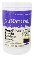 NuNaturals - MoreFiber Stevia Baking Blend - 14.11 oz., from category: Nutritional Supplements