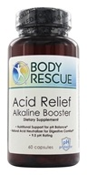 Image of Body Rescue - Acid Relief Alkaline Booster - 60 Capsules