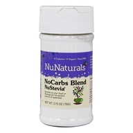 NuNaturals - NuStevia NoCarbs Blend - 2.75 oz. by NuNaturals