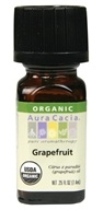 Aura Cacia - Essential Oil Organic Grapefruit - 0.25 oz.