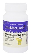 Image of NuNaturals - NuStevia Quick Dissolve Tabs - 150 Tablets