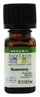 Aura Cacia - Essential Oil Organic Rosemary - 0.25 oz.