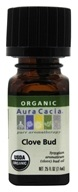 Image of Aura Cacia - Essential Oil Organic Clove Bud - 0.25 oz.