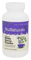 Image of NuNaturals - NuStevia White Stevia Powder - 4 oz.