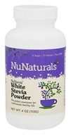NuNaturals - NuStevia White Stevia Powder - 4 oz. by NuNaturals