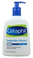 Cetaphil - Gentle Skin Cleanser For All Skin Types Fragrance-Free - 16 oz. (302993921165)