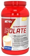 Image of MET-Rx - Ultramyosyn Whey Isolate Creamy Vanilla - 2 lbs.