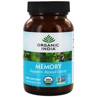 Organic India - Memory Mental Clarity - 90 Vegetarian Capsules, from category: Herbs