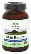 Organic India - Skin Renew Rescue-Rejuvenate-Purify - 90 Vegetarian Capsules (851469000533)