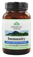 Organic India - Immunity Boost Immune Response - 90 Vegetarian Capsules, from category: Herbs