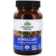 Organic India - Bowelcare Satisfying Elimination - 90 Vegetarian Capsules (851469000809)