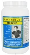 Gary Null's - Muscle All Vegetable Protein Powder French Vanilla Flavor - 1.5 lbs.