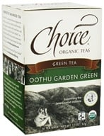Choice Organic Teas - Green Tea Oothu Garden Green - 16 Tea Bags, from category: Teas