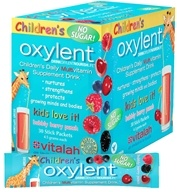 Image of Oxylent - Children's Multivitamin Drink Bubbly Berry Punch - 30 Packet(s)