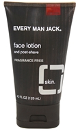 Every Man Jack - Face Lotion Post-Shave Fragrance Free - 4.2 oz.