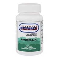 Advanced Research - Bromelain with Papain - 100 Tablets - $9.31