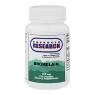 Advanced Research - Bromelain with Papain - 100 Tablets (605164344320)