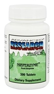 Advanced Research - Nieperzyme Food Enzymes - 200 Tablets - $19.89