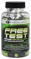 Applied Nutriceuticals - Free Test Testosterone Booster 700 mg. - 100 Capsules (736211922410)