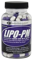 Image of Applied Nutriceuticals - Lipotrophin-PM Night-Time Metabolic Booster 600 mg. - 120 Capsules