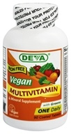 Deva Nutrition - Vegan Multivitamin & Mineral One Daily Iron-Free - 90 Coated Tablet(s) - $8.79