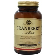 Solgar - Cran Flora with Probiotics plus Ester C - 60 Vegetarian Capsules, from category: Nutritional Supplements