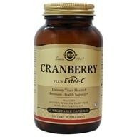 Image of Solgar - Cran Flora with Probiotics plus Ester C - 60 Vegetarian Capsules