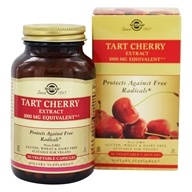 Image of Solgar - Tart Cherry 1000 mg. - 90 Vegetarian Capsules