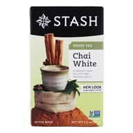 Stash Tea - Premium Chai White Tea - 18 Tea Bags (077652083033)