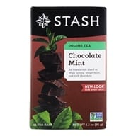 Image of Stash Tea - Premium Oolong Tea Chocolate Mint with Wuyi Oolong - 18 Tea Bags