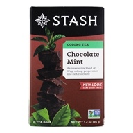 Stash Tea - Premium Oolong Tea Chocolate Mint with Wuyi Oolong - 18 Tea Bags by Stash Tea