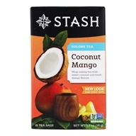 Stash Tea - Premium Coconut Mango Oolong Tea with Wuyi Oolong - 18 Tea Bags (077652083552)