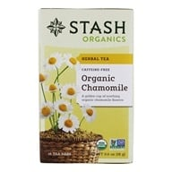 Stash Tea - Premium Organic Caffeine Free Herbal Tea Chamomile - 18 Tea Bags by Stash Tea