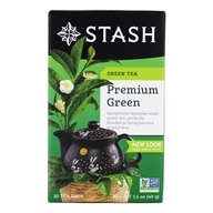 Stash Tea - Premium Green Tea - 20 Tea Bags (077652082296)