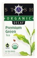 Stash Tea - Premium Organic Decaf Green Tea - 18 Tea Bags (077652083835)