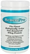 Nutricology - RenewPro Finest Biologically Active Non-Denatured Whey Protein Powder - 10.6 oz. (817700001509)