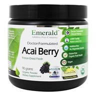 Emerald Labs - Acai Berry Freeze Dried Fresh Powder - 90 Grams Formerly FruitrientsX
