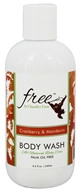 Chandler Farm - Body Wash Mia's Cranberry & Mandarin - 8.3 oz.